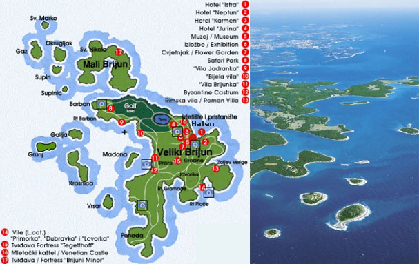 Brijuni Islands Tour